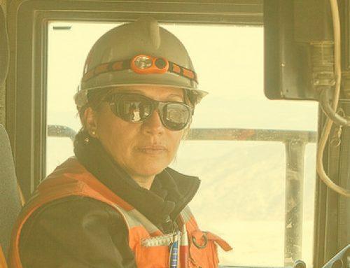 Mujer en la minería
