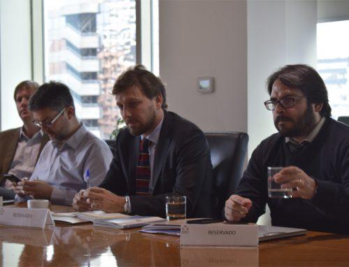 Felipe Riesco se reunió con el Consejo Minero
