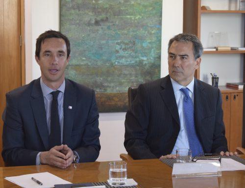 CM se reunió con el Ministro de Energía, Juan Carlos Jobet