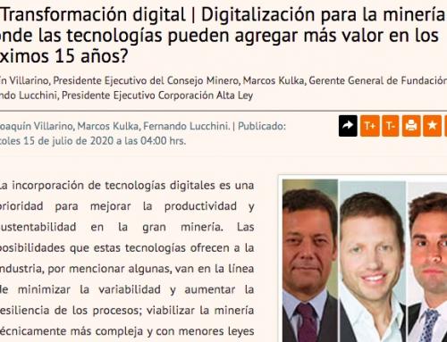 Digitalización para la minería 4.0: ¿dónde las tecnologías pueden agregar más valor en los próximos 15 años?
