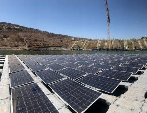 Proyecto de Paneles Solares Flotantes