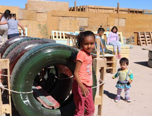 TECHO en campamentos Quetena y San Gabriel