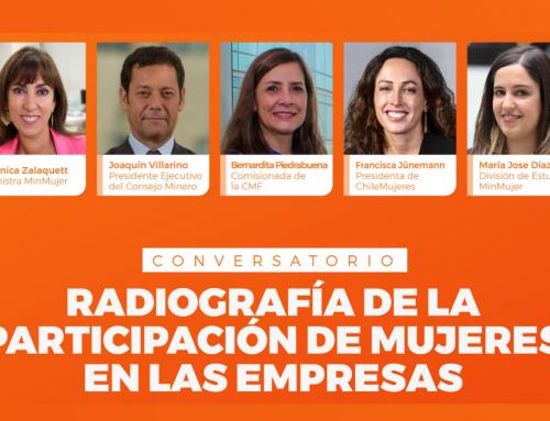 Conversatorio: Radiografía de la participación de mujeres en las empresas