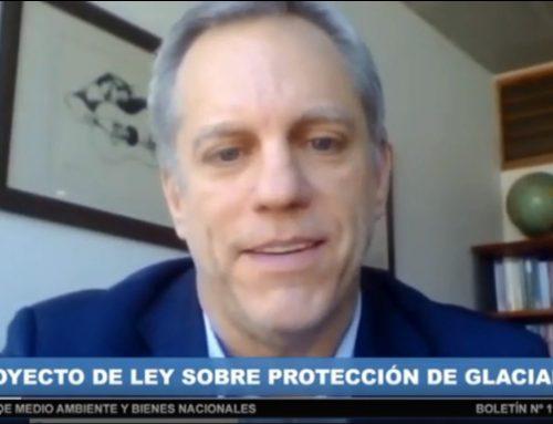 CM expone sus observaciones al proyecto de ley sobre protección de glaciares
